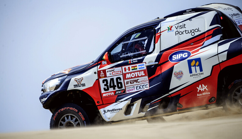 Andre Villas-Boas (PRT) of Overdive Toyota race...