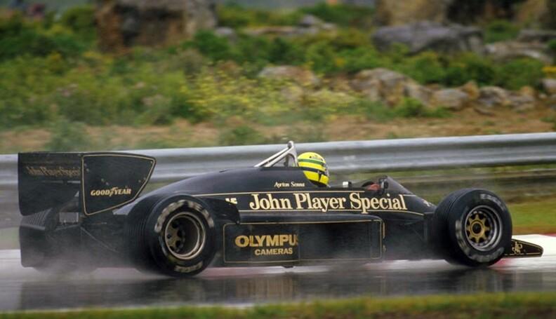 1985 Portuguese Grand Prix. Estoril, Portugal....