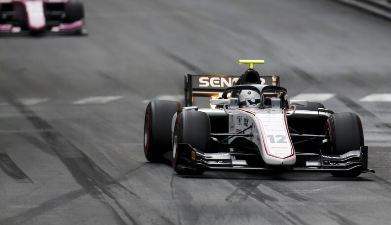 FIA Formula 2 MONTE CARLO, MONACO - MAY 24: Juan Manuel Correa (USA, SAUBER JUNIOR TEAM BY CHAROUZ) during the Monaco at Monte Carlo on May 24, 2019 in Monte Carlo, Monaco. (Photo by Joe Portlock / LAT Images / FIA F2 Championship) FIA Formula 2 Joe Portlock  Monaco  action