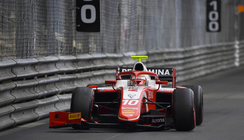 FIA Formula 2 MONTE CARLO, MONACO - MAY 24: Sea...