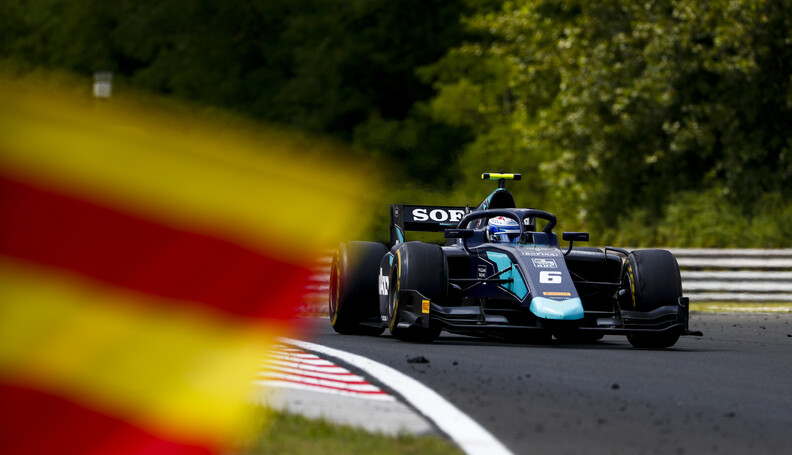 FIA Formula 2 HUNGARORING, HUNGARY - AUGUST 03:...