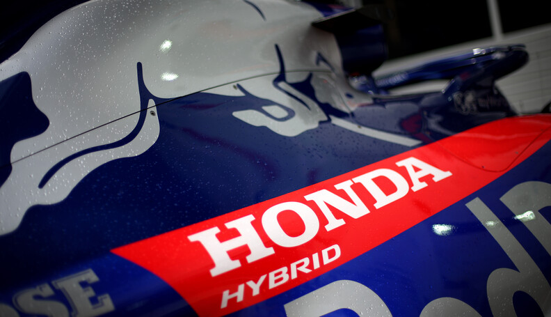 Formula One World Championship Honda 26.09.2019...
