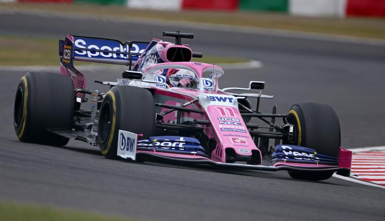 Formula One World Championship Sergio Perez (ME...