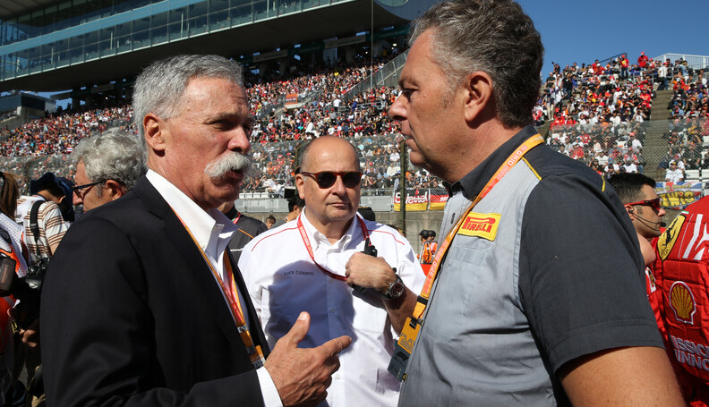 Formula One World Championship Chase Carey (USA...