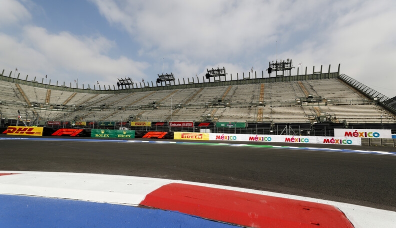 2019 Mexican GP MEXICO CITY - OCTOBER 24: Gener...