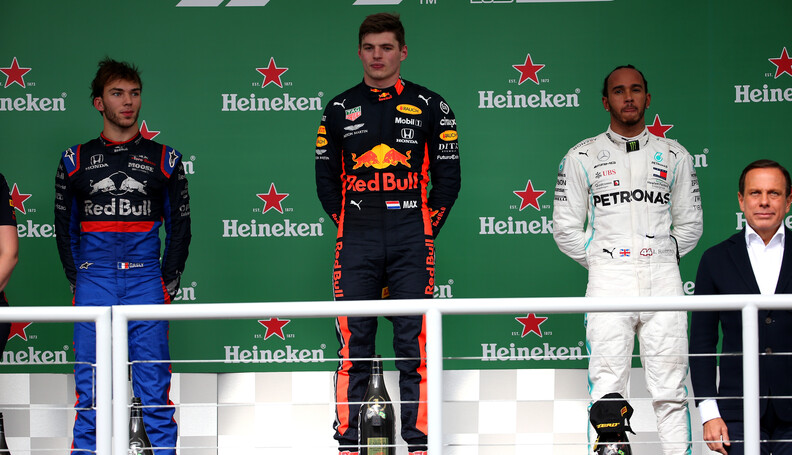Formula One World Championship 1st place Max Ve...