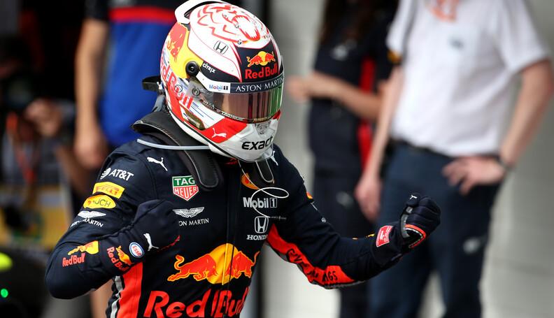 Formula One World Championship 1st place Max Ve...
