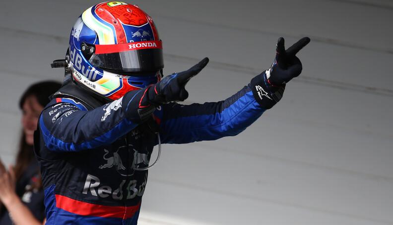 Formula One World Championship 2nd place Pierre...