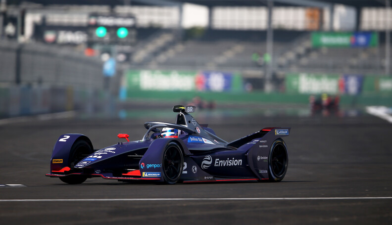 Sam Bird (GBR), Envision Virgin Racing, Audi e-tron FE06   Dom Romney    action TS-Live