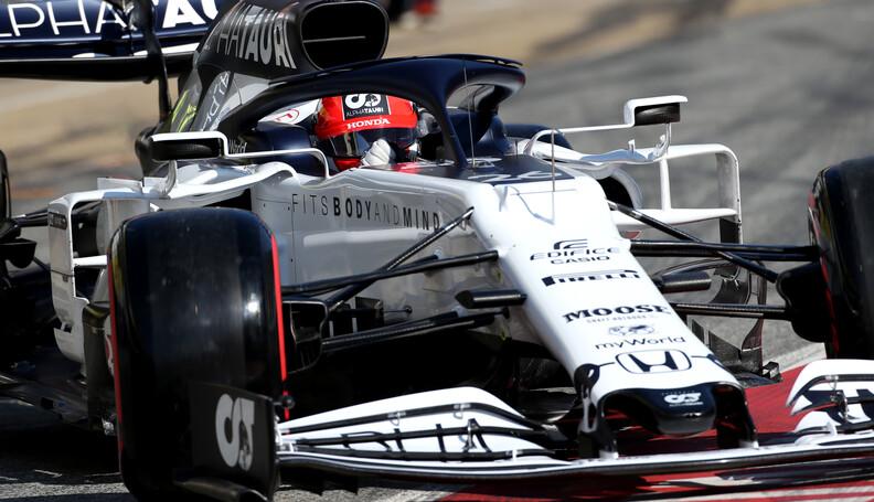 Formula One Testing Daniil Kvyat (RUS), AlphaTa...