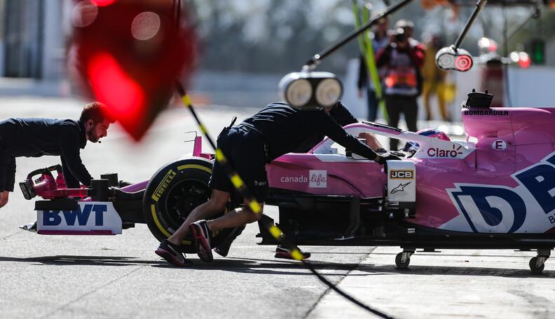 Formula One Testing Lance Stroll (CDN), Racing ...