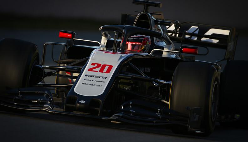 Formula One Testing Kevin Magnussen (DEN), Haas...