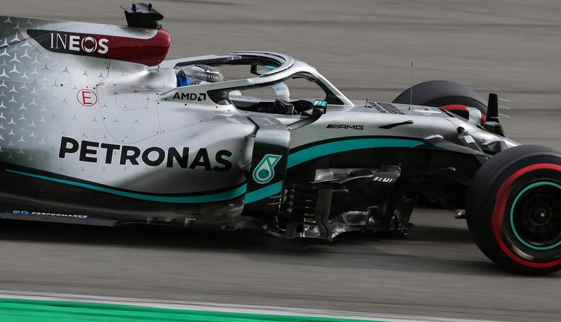 Formula One Testing Valtteri Bottas (FIN), Merc...