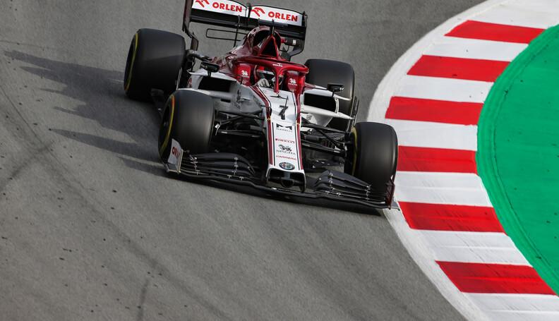 Formula One Testing Kimi Raikkonen (FIN), Alfa ...