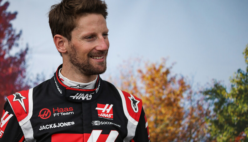 Formula One World Championship Romain Grosjean ...