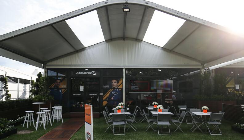 Formula One World Championship McLaren F1 hospi...