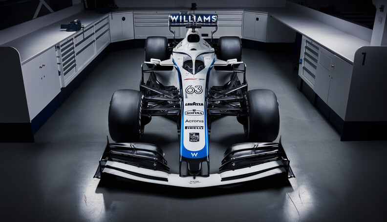 Williams Racing 2020 Livery George Russell's Wi...