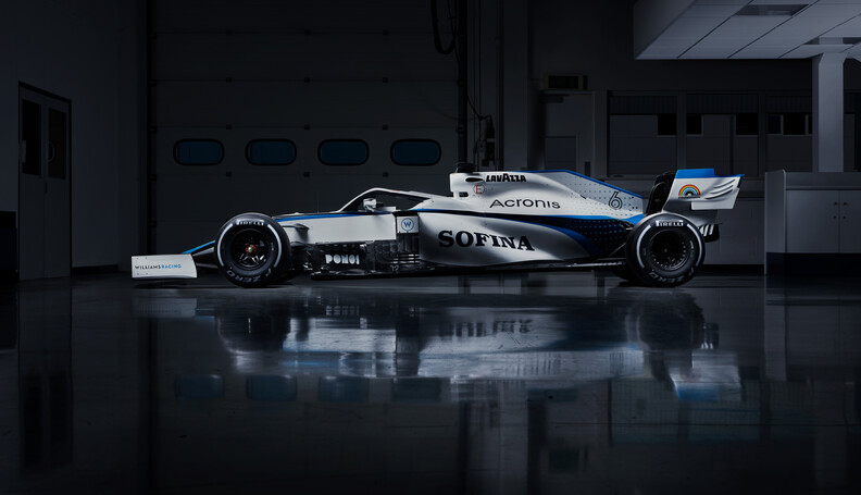Williams Racing 2020 Livery Nicholas Latifi's Williams Racing 2020 Livery Williams Racing 2020 Livery Williams Racing    23 07 7 2020 F1 Formula 1 Formula One car