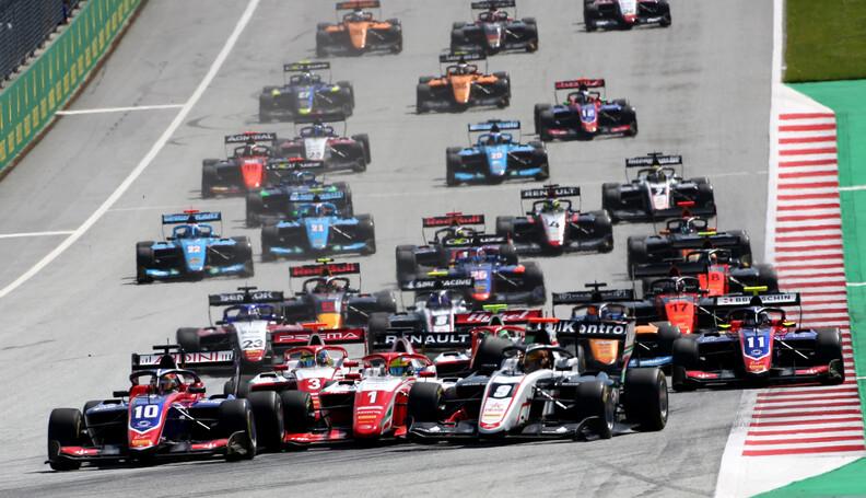 FIA Formula 3 Championship Pole sitter Sebastia...