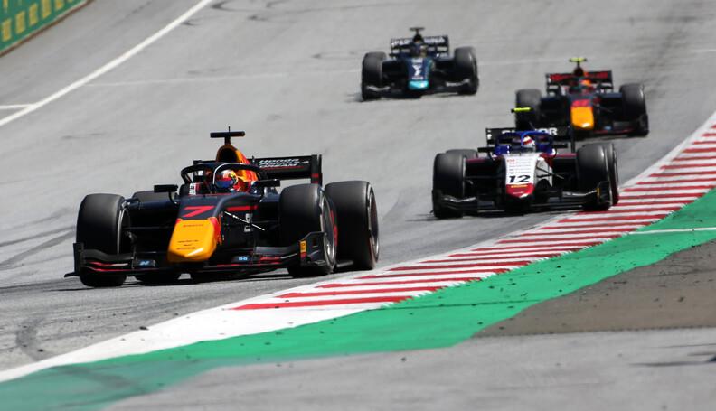 FIA Formula 2 Championship Yuki Tsunoda (JPN) C...