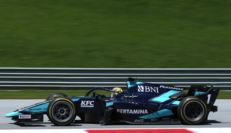 FIA Formula 2 Championship Sean Gelael (IDN) Da...