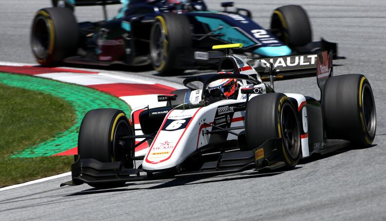 FIA Formula 2 Championship Christian Lungaard (...