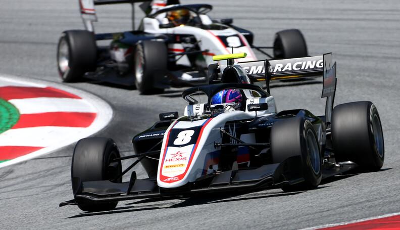FIA Formula 3 Championship Alexander Smolyar (R...