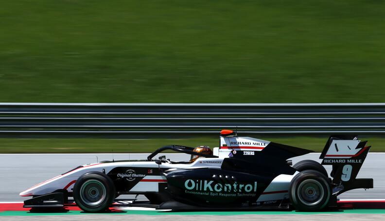 FIA Formula 3 Championship Sebastian Fernandez ...