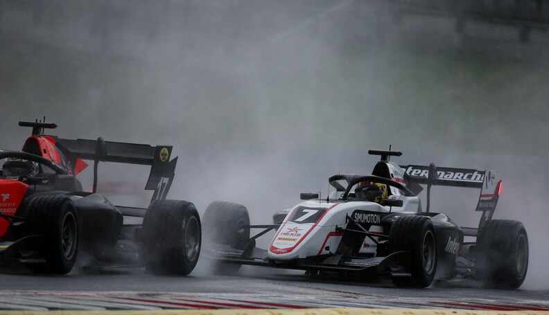 FIA Formula 3 Championship Theo Pourchaire (FRA...