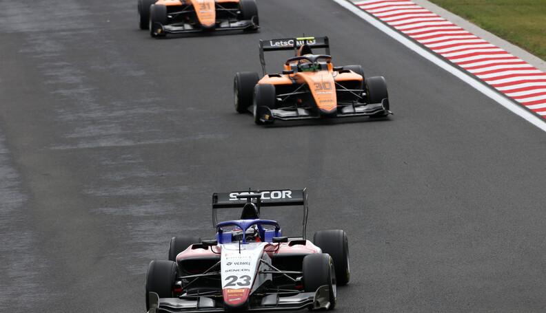 FIA Formula 3 Championship Niko Kari (FIN) Char...