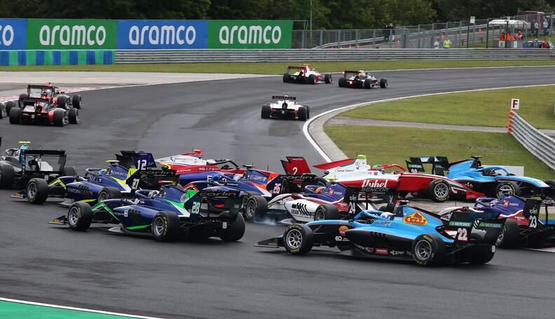 FIA Formula 3 Championship Cameron Das (USA) Ca...