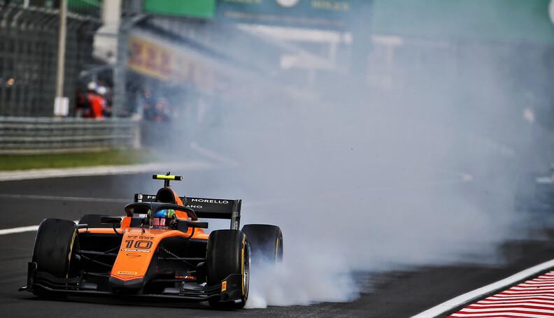 FIA Formula 2 Championship Guilherme Samaia (BR...