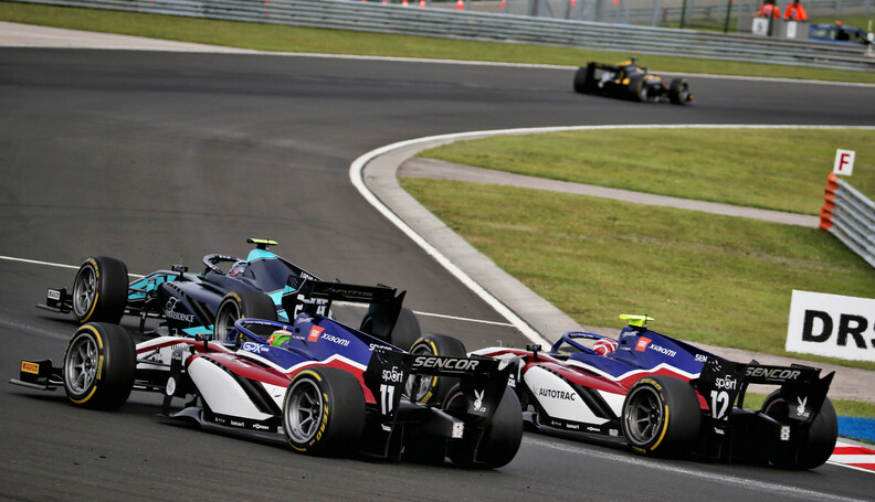 FIA Formula 2 Championship Louis Deletraz (SUI)...