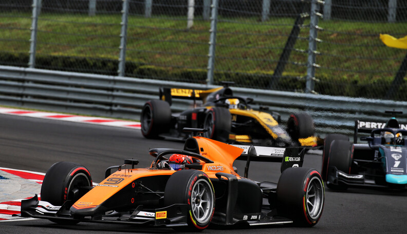 FIA Formula 2 Championship Jack Aitken (GBR) Ca...