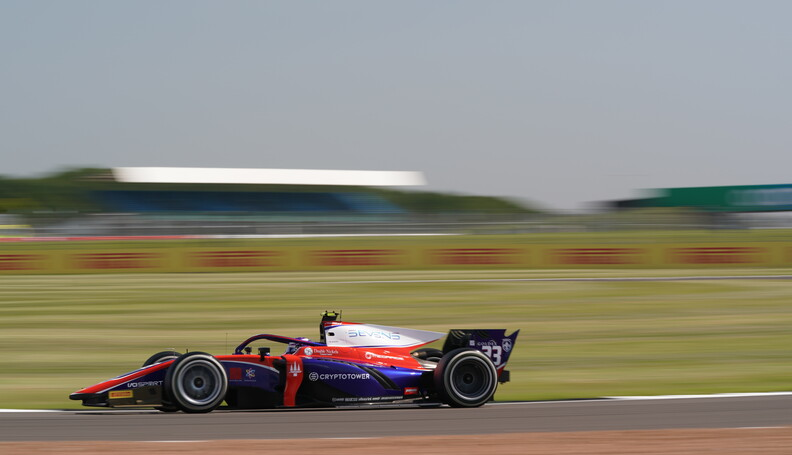FIA Formula 2 Championship Marino Sato (JPN) Trident.
