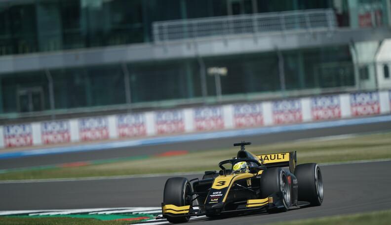 FIA Formula 2 Championship Guanyu Zhou (CHN) Re...