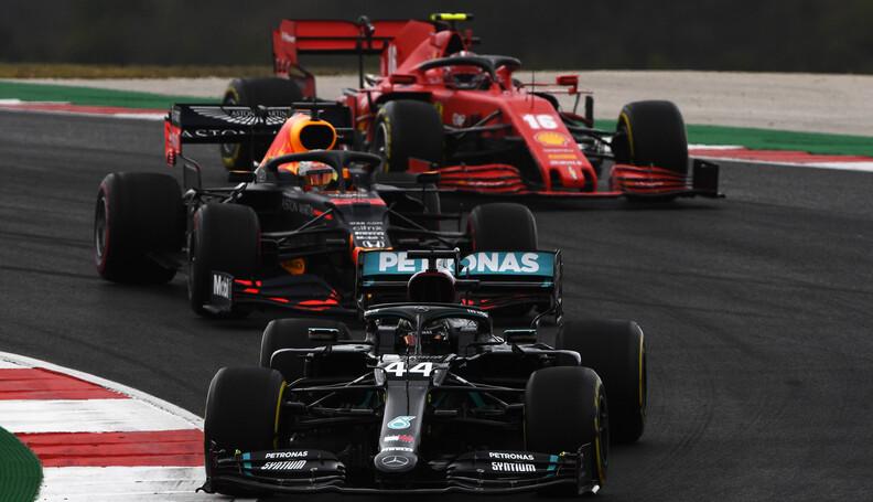 PORTIMAO, PORTUGAL - OCTOBER 25: Lewis Hamilton...