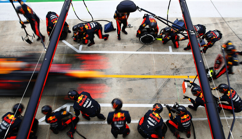 IMOLA, ITALY - NOVEMBER 01: Max Verstappen of t...