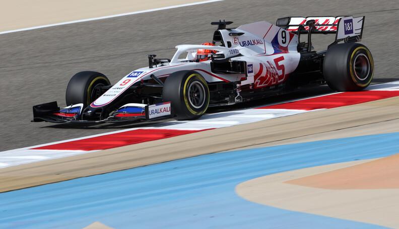 Formula One World Championship Nikita Mazepin (...