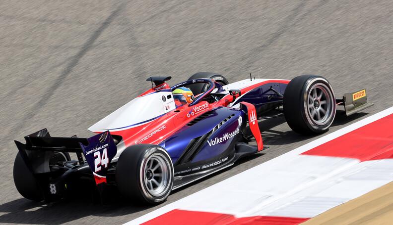 FIA Formula 2 Championship Bent Viscaa (NDL), T...