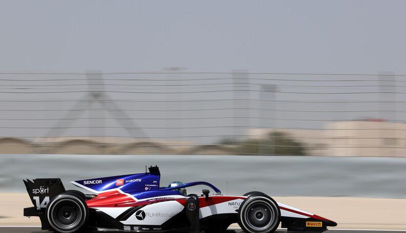 FIA Formula 2 Championship David Beckmann (GER)...