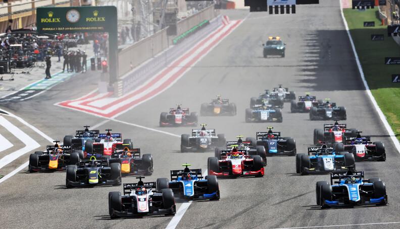 FIA Formula 2 Championship (L to R): Christian ...