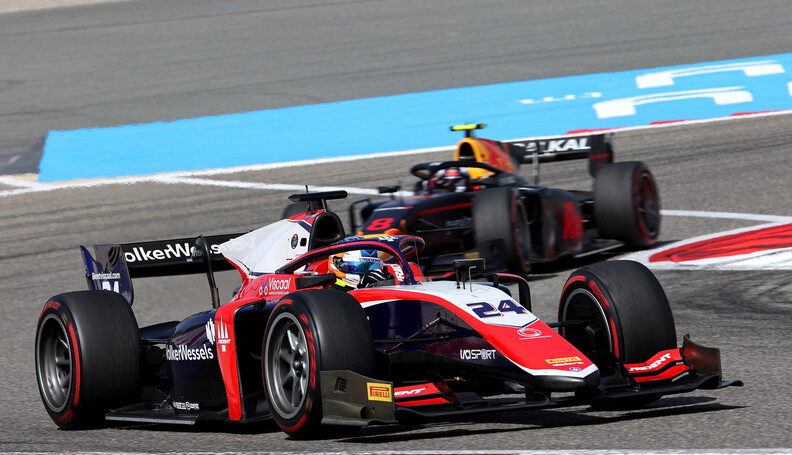 FIA Formula 2 Championship Bent Viscaal (NLD) T...