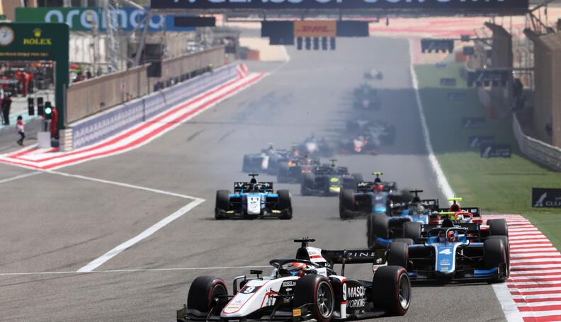 FIA Formula 2 Championship Christian Lundgaard ...