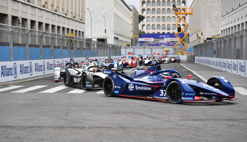 Nick Cassidy (NZL), Envision Virgin Racing, Aud...