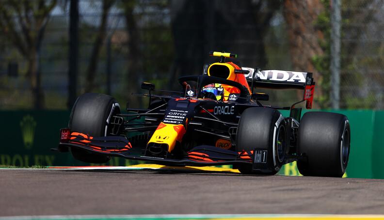 IMOLA, ITALY - APRIL 16: Sergio Perez of Mexico...