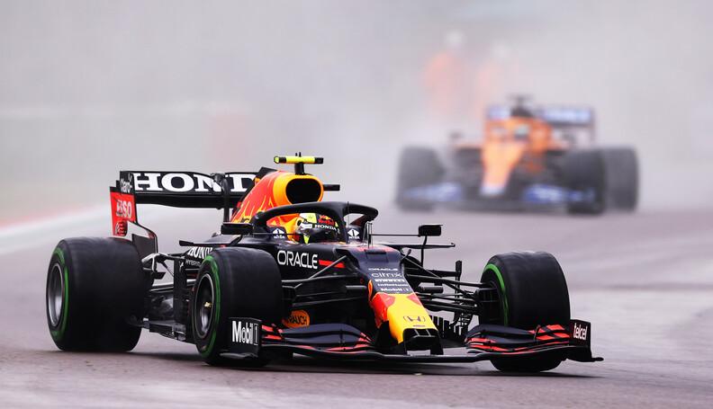 IMOLA, ITALY - APRIL 18: Sergio Perez of Mexico...