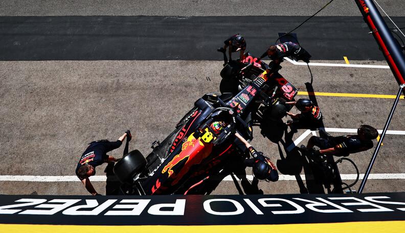 PORTIMAO, PORTUGAL - APRIL 30: Sergio Perez of ...