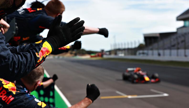 PORTIMAO, PORTUGAL - MAY 02: Red Bull Racing te...