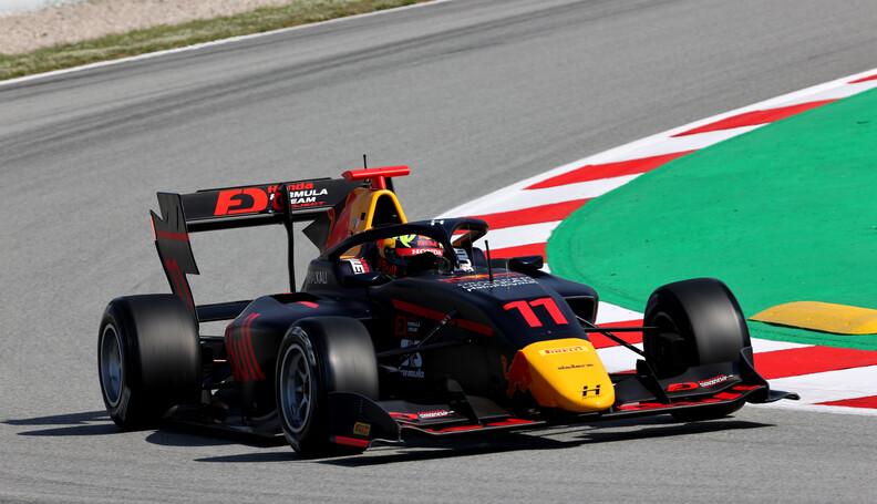 FIA Formula 3 Championship Ayumu Iwasa (JPN) Tr...